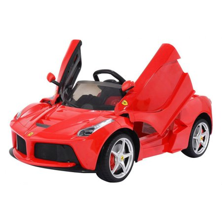 laferrari licensed ride on ferrari electric car 12v for kids power wheels with remote control
