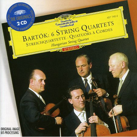 Bartok: 6 String Quartets (CD) (Best String Quartet Music)