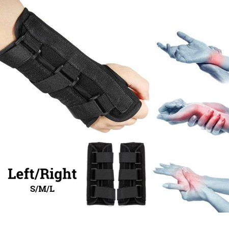 Breathable Medical Carpal Tunnel Wrist Brace Sports Gym Sprain Forearm Support Protector Right and Left Hands Splint Support