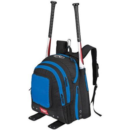 Rawlings Carrying Case [backpack] For Baseball Bat - Royal (bkpkr) Sports Gear