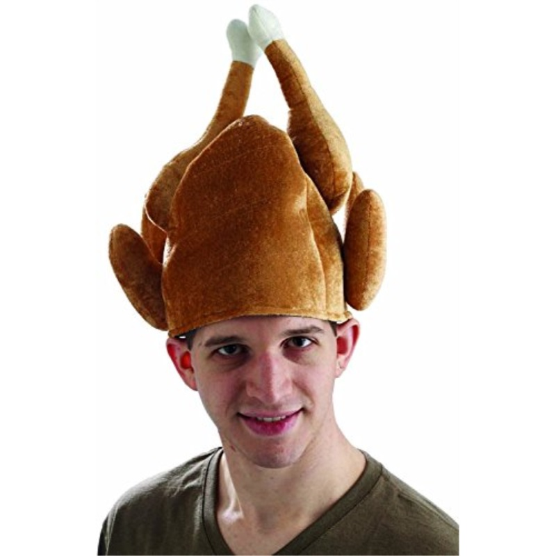 3 Turkey Hats Funny Thanksgiving Outfit Adult Halloween Costume Accessory Gift