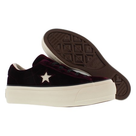 converse one star velvet platform ox - women's ()