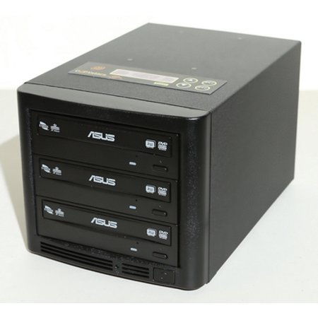 Copystars DVD Duplicator Sata CD-DVD Burner Drive 24X 1 to 2  DVD Copier Duplication