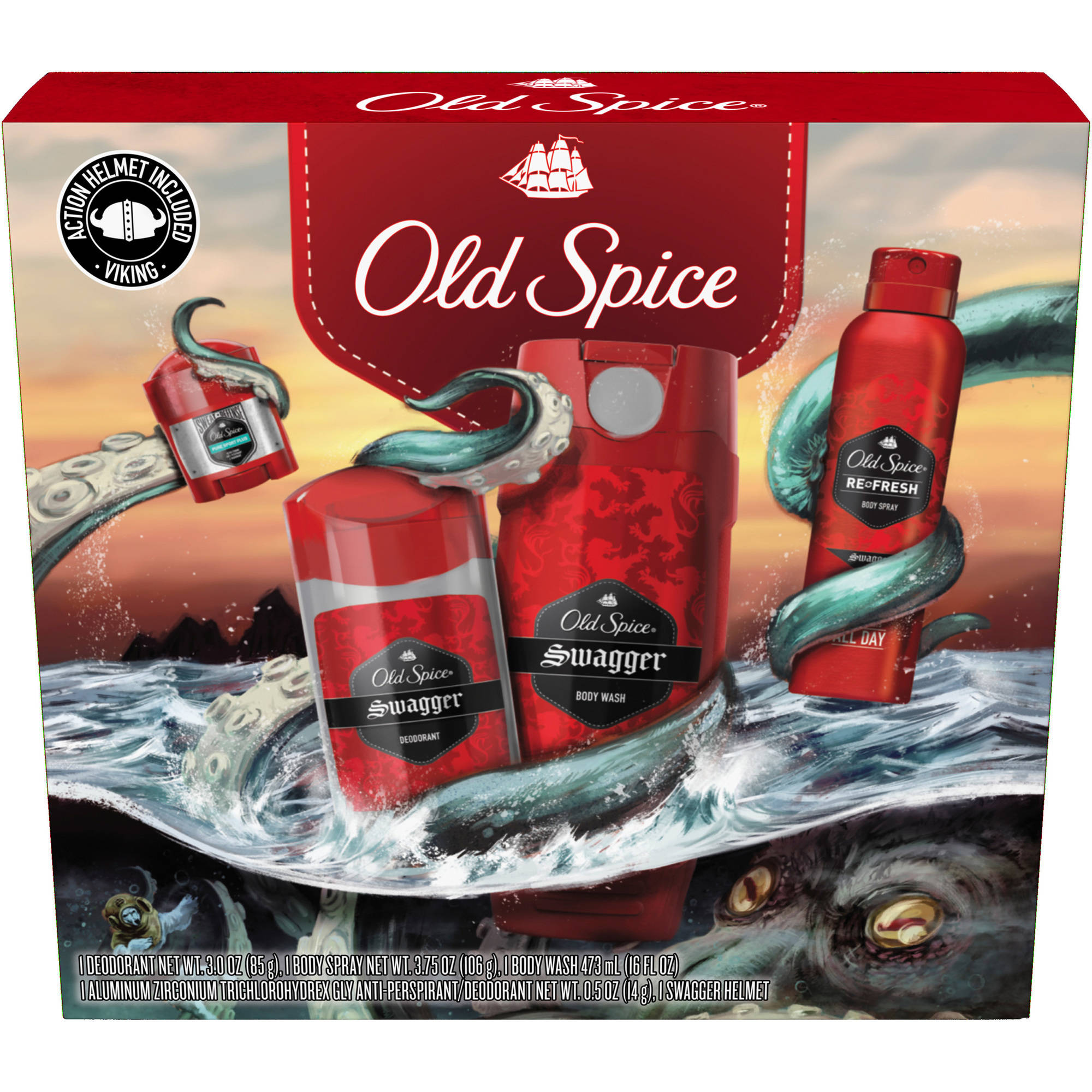 Old Spice Swagger Holiday Pack, 5 pc