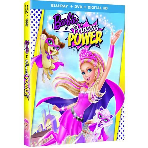 Barbie In A Princess Power (Blu-ray + DVD + Digital HD) (With INSTAWATCH) MCABR63131884