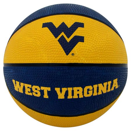 West Virginia Mountaineers Mini Rubber