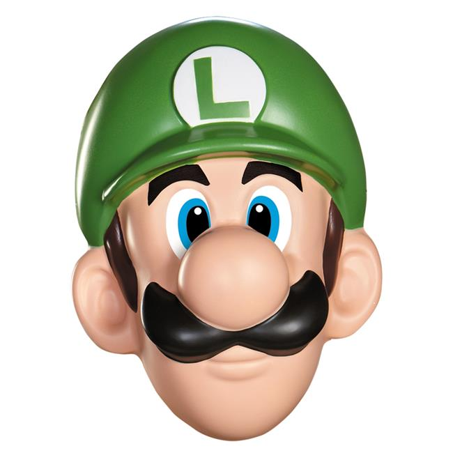 Morris Costumes DG73814 Luigi Adult Mask - image 1 of 1