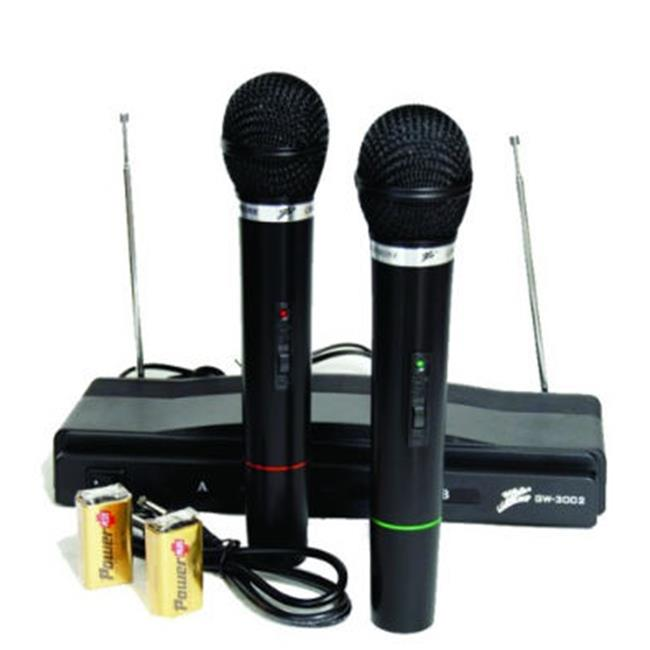 Microphone Dual Wireless with Receiver - Nippon - GW3002