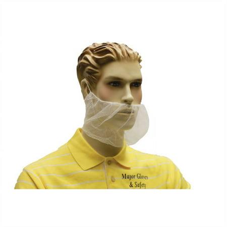 - Beard Covers - Nylon Net Lot of 1 Pack(s) of 100 Units