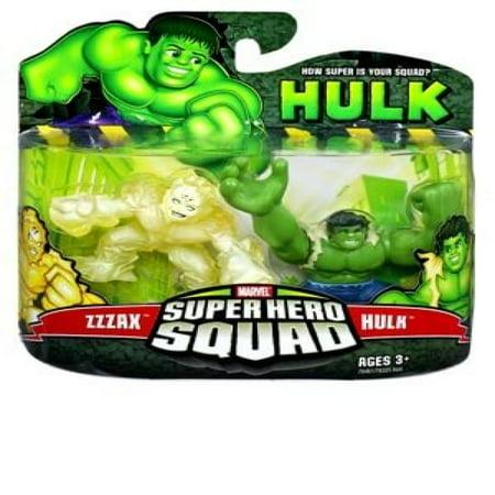 Marvel Superhero Squad Incredible Hulk Movie Series 3 Mini 3 Inch Figure 2 Pack Zzzax And Hulk