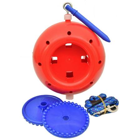 Manna Pro-feed And Treats-Likit Boredom Breaker Horse Toy- Red Boredom Breaker Toy