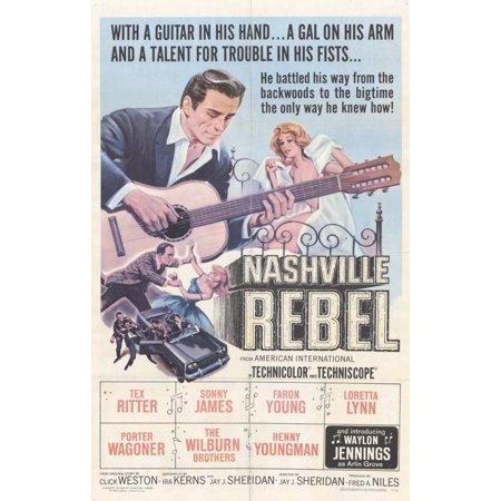 Nashville Rebel (1966) 11x17 Movie - Halloween Nashville Weather