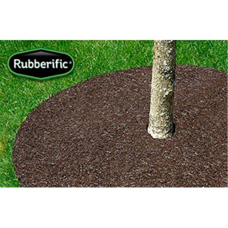 International Mulch Rubberific 36 in. Brown Tree Ring, 3 Pack
