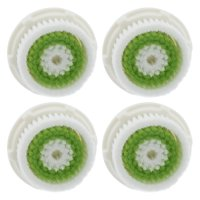 4-Pack Acne Prone Facial Cleansing Brush Heads (Compatible with Clarisonic Mia 2 Pro)