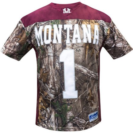 NCAA Montana Men's Realtree Game Day Jersey