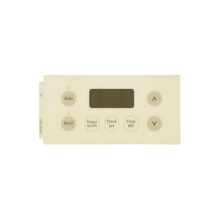 316220702 Frigidaire Range Overlay Clock Bisque