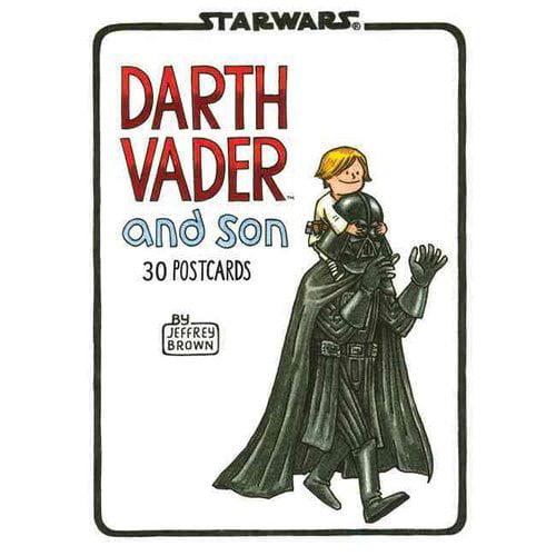 Darth Vader and Son Postcard Book