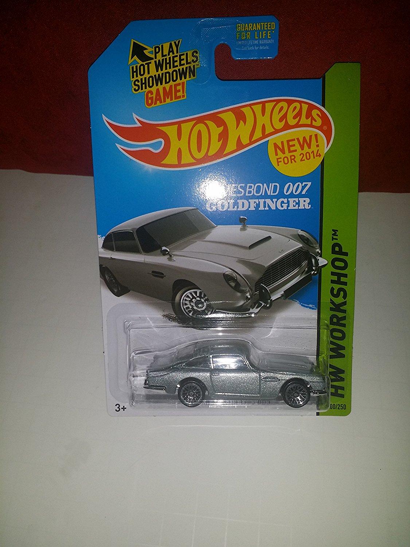 2014 Hot Wheels Hw Workshop 200 250 James Bond 007 Goldfinger Aston Martin 1963 DB5 [Ships... by