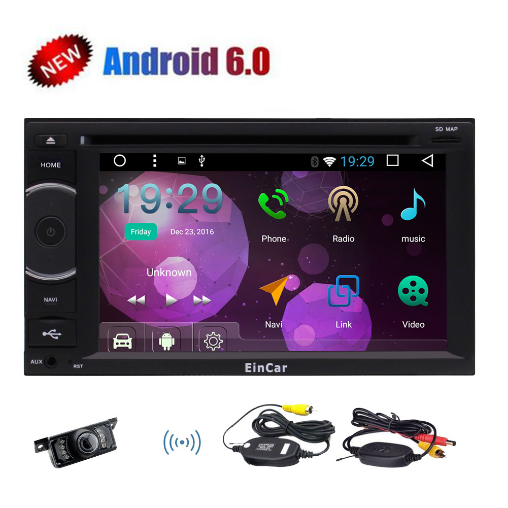 Newest 6.2 inch Pure Android 6.0 In Dash Car Stereo with ...