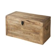 Wooden Trunk in Reclaimed Finish