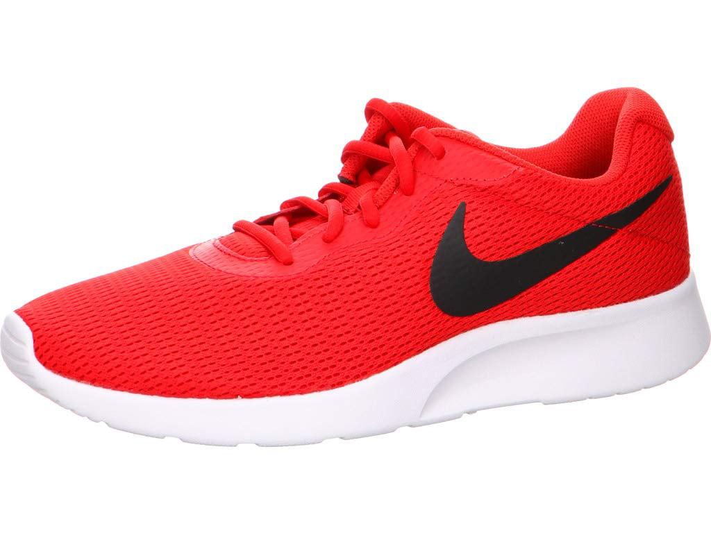 Nike - Nike 812654-601: Mens Tanjun University Red Black Sneakers (8 D(M)  US Men) - Walmart.com
