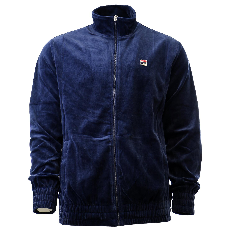 Fila Mens King Velour Track Jacket /& Cooling Towel Bundle