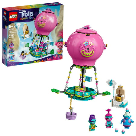 LEGO Trolls World Tour Poppy's Hot Air Balloon Adventure Building Kit 41252