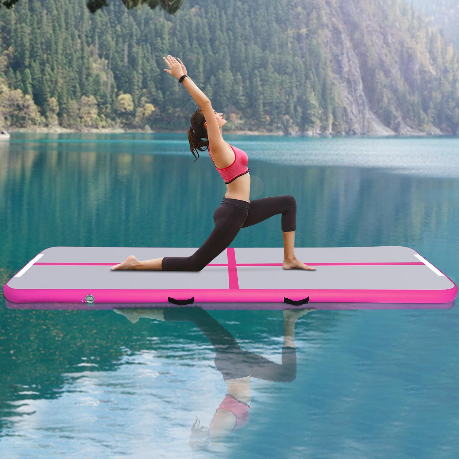 Home Training Equipment  Inflatable Air Tumble Track  Inflatable Gymnastics Air Mat STDTE