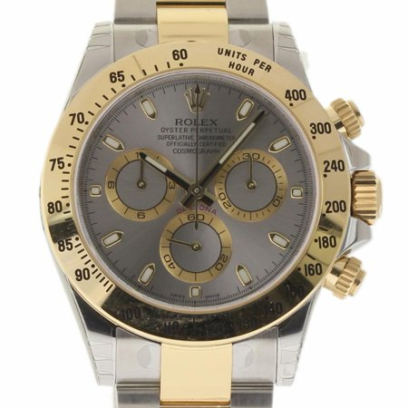 Pre-Owned Rolex Daytona 116523 Steel  Watch (Certified Authentic & Warranty) (Rolex Daytona)