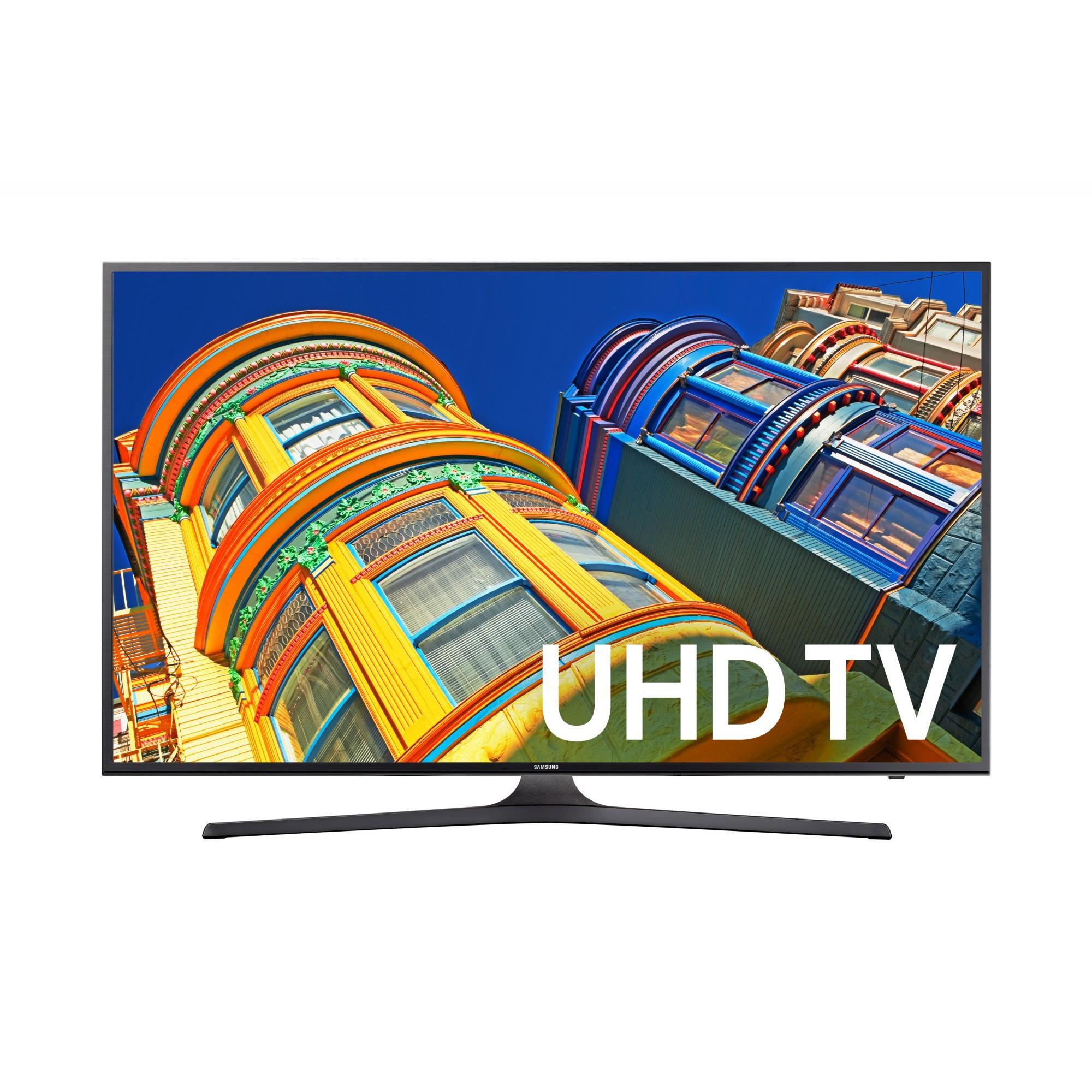 """SAMSUNG 40"""" 6300 Series - 4K Ultra HD Smart LED TV - 2160p, 120MR (Model#: UN40KU6300)"""
