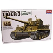1386 1/35 Tiger I Exterior Mdl ACYS1386 ACADEMY PLASTICS