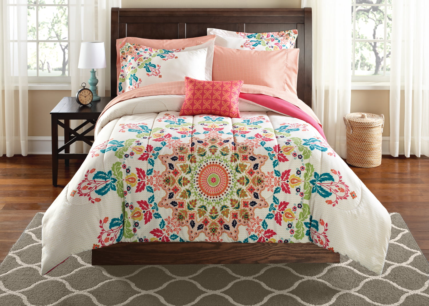 comforter bedding set queen king twin full bed duvet cover shams