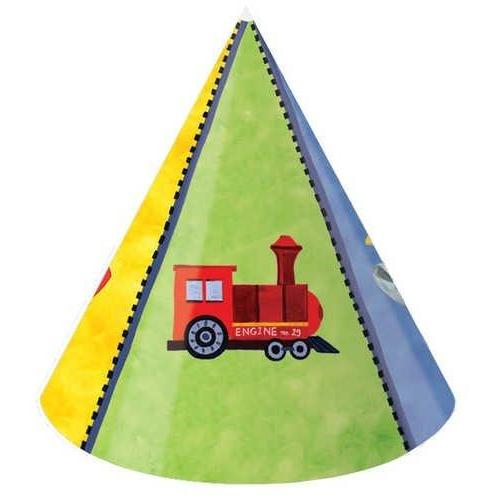 On The Go Party Hats, Child Size (8 Pack) - Party Supplies
