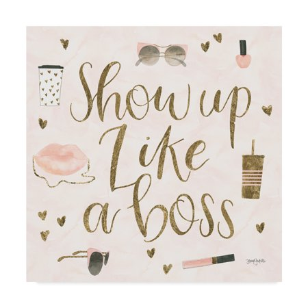 be21afcd9d4 Trademark Fine Art  Boss Ladies VII Pink  Canvas Art by Jenaya Jackson -  Walmart.com