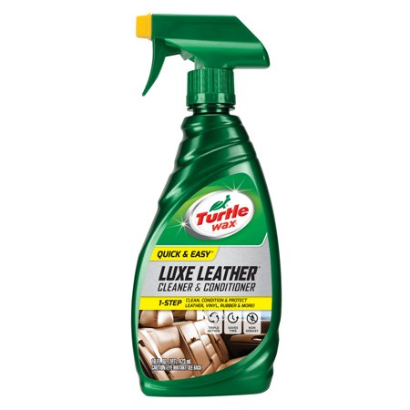 Turtle Wax Quick and Easy Luxe Leather Cleaner and