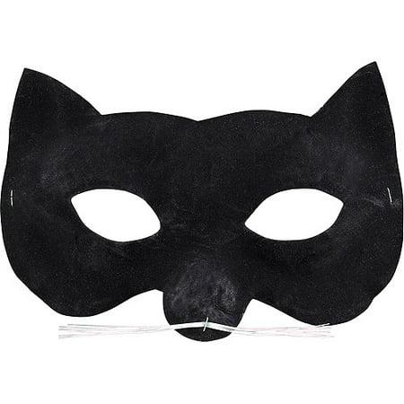 Velvet Cat Eye Mask Halloween - Cat Eye Halloween Decorations