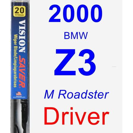 2000 BMW Z3 (M Roadster) Driver Wiper Blade - Vision Saver 2000 Bmw Z3 Roadster