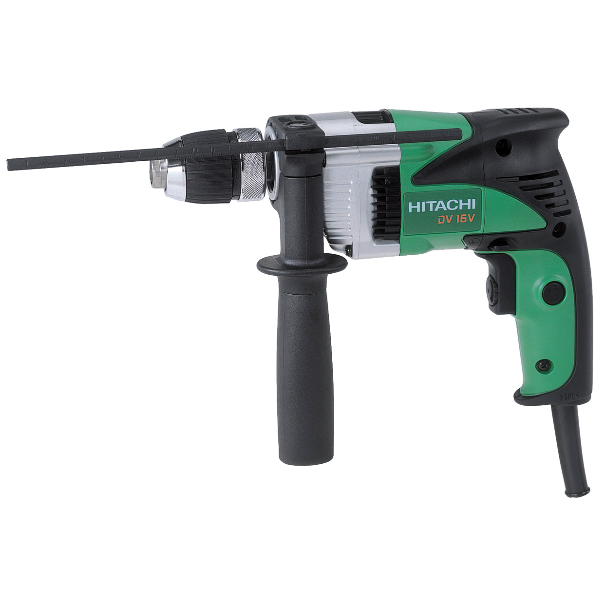 "Hitachi DV16V 5 8"" 6 Amp 2-Mode VSR Hammer Drill by Hitachi Power Tools"