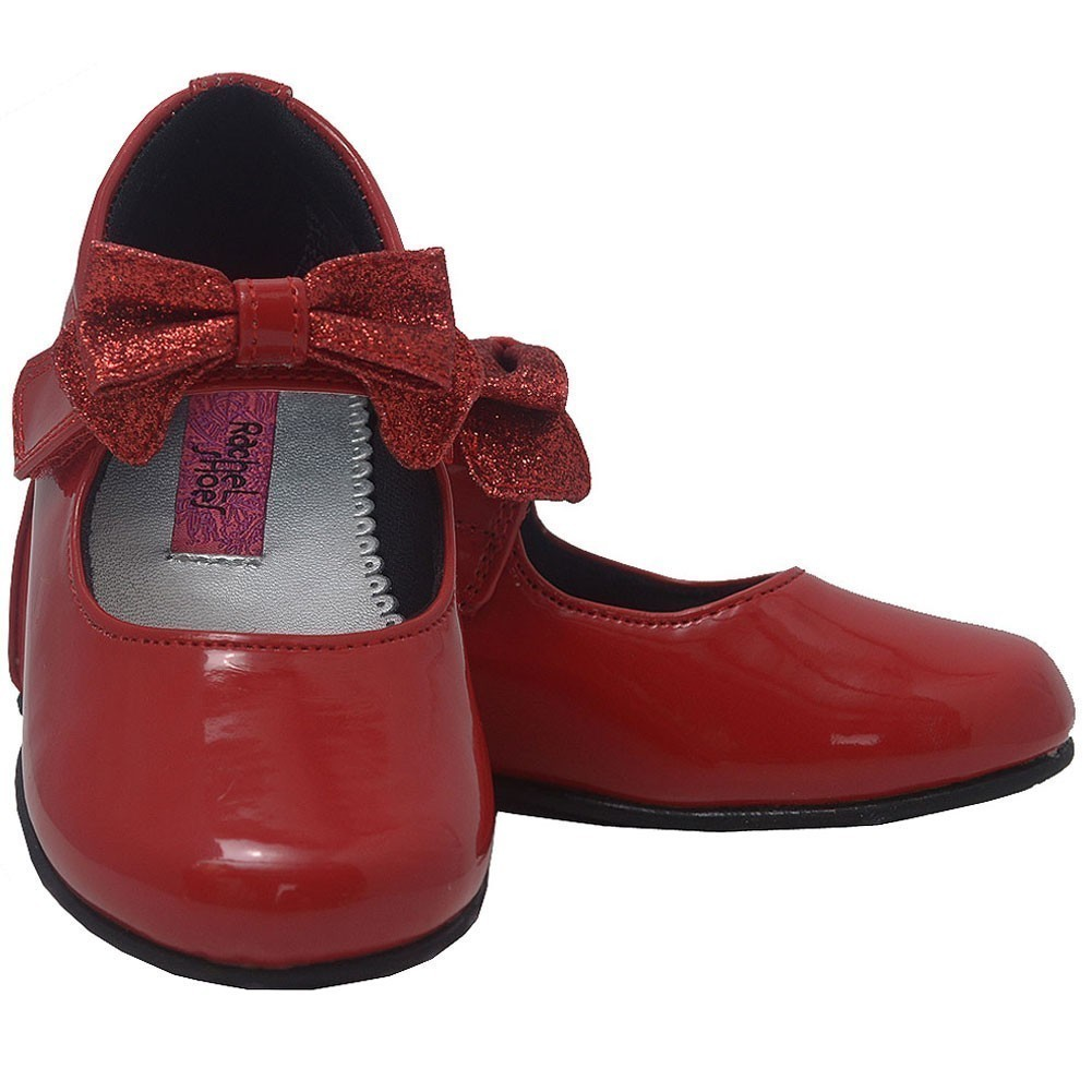 Rachel Shoes - Rachel Little Girls Red