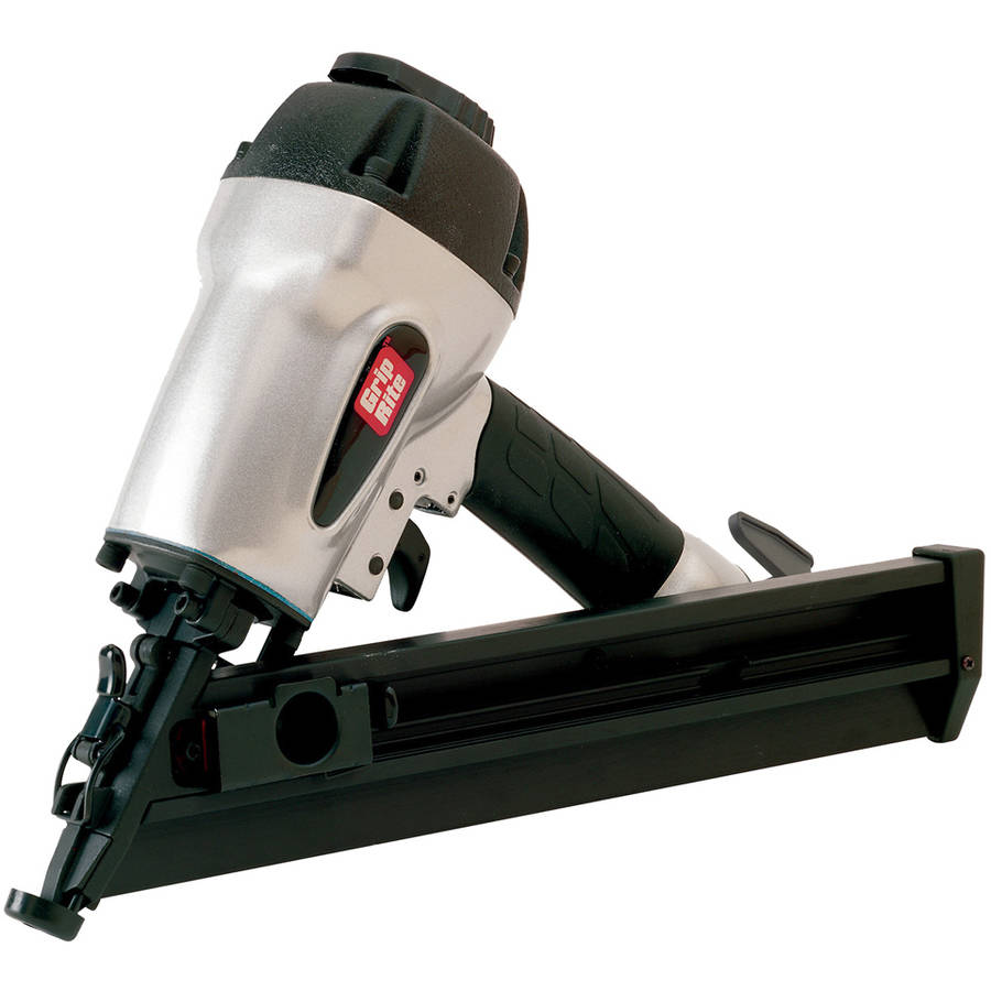 Grip GRTAN250 15 Gauge Angled Finish Nailer, 2-1/2-Inch