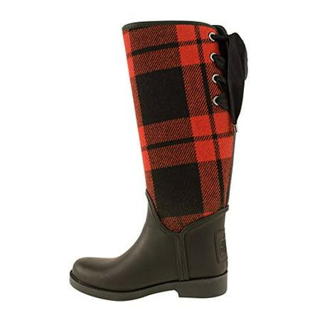 97faf67c Tristee 34A8441 Women's Mat Rubber Rainboots Equestrian Boots Size 10
