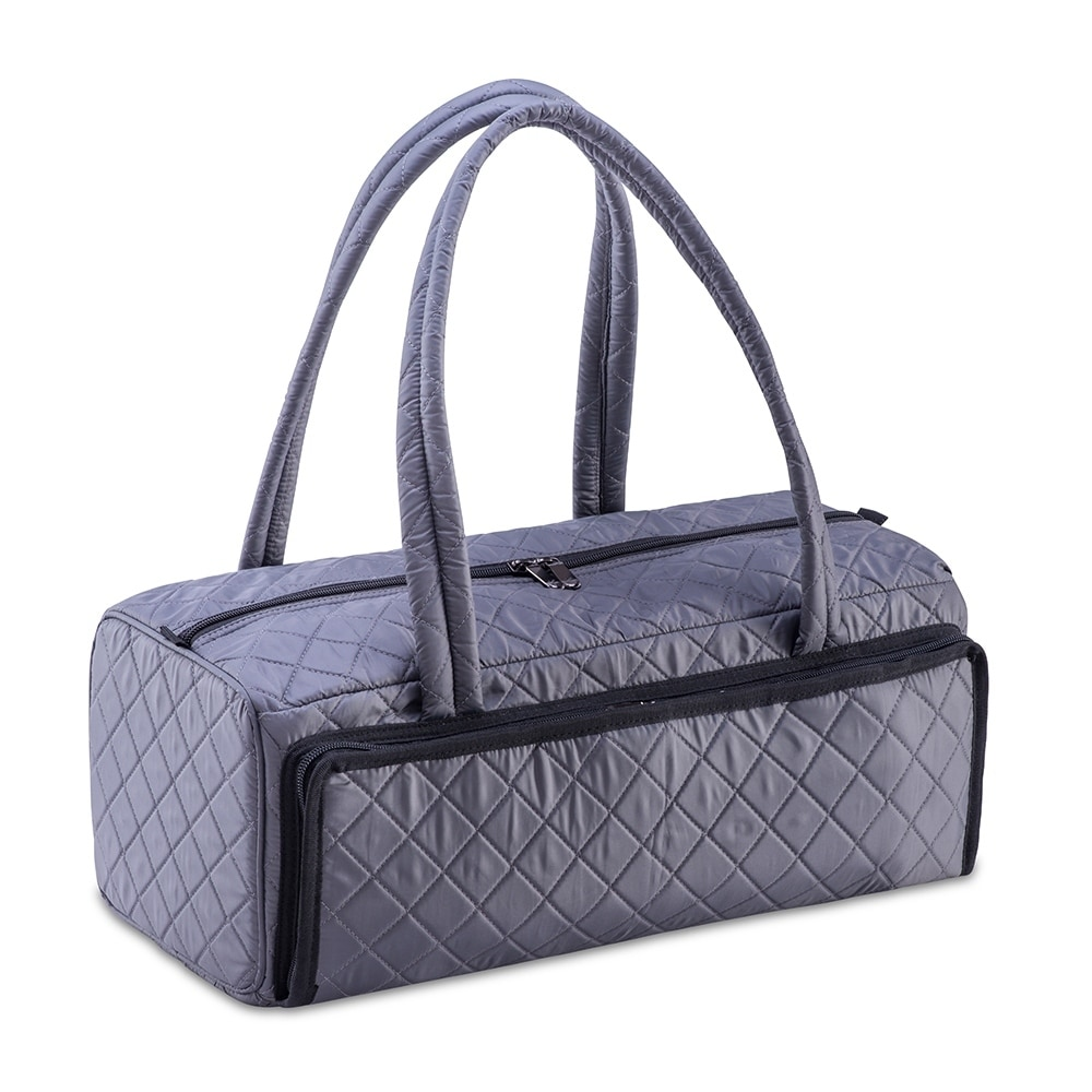 DeNOA Quilted Craft & Hobby Duffle Bag for Sewing Knitting Yarn Storage
