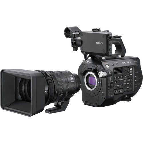 Sony PXW-FS7 Mark II 4K XDCAM Super 35 Camcorder Kit W/ 1...
