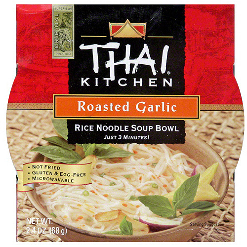 Simply Asia Roasted Garlic Rice Noodles, 2.4 oz (Pack of 6)