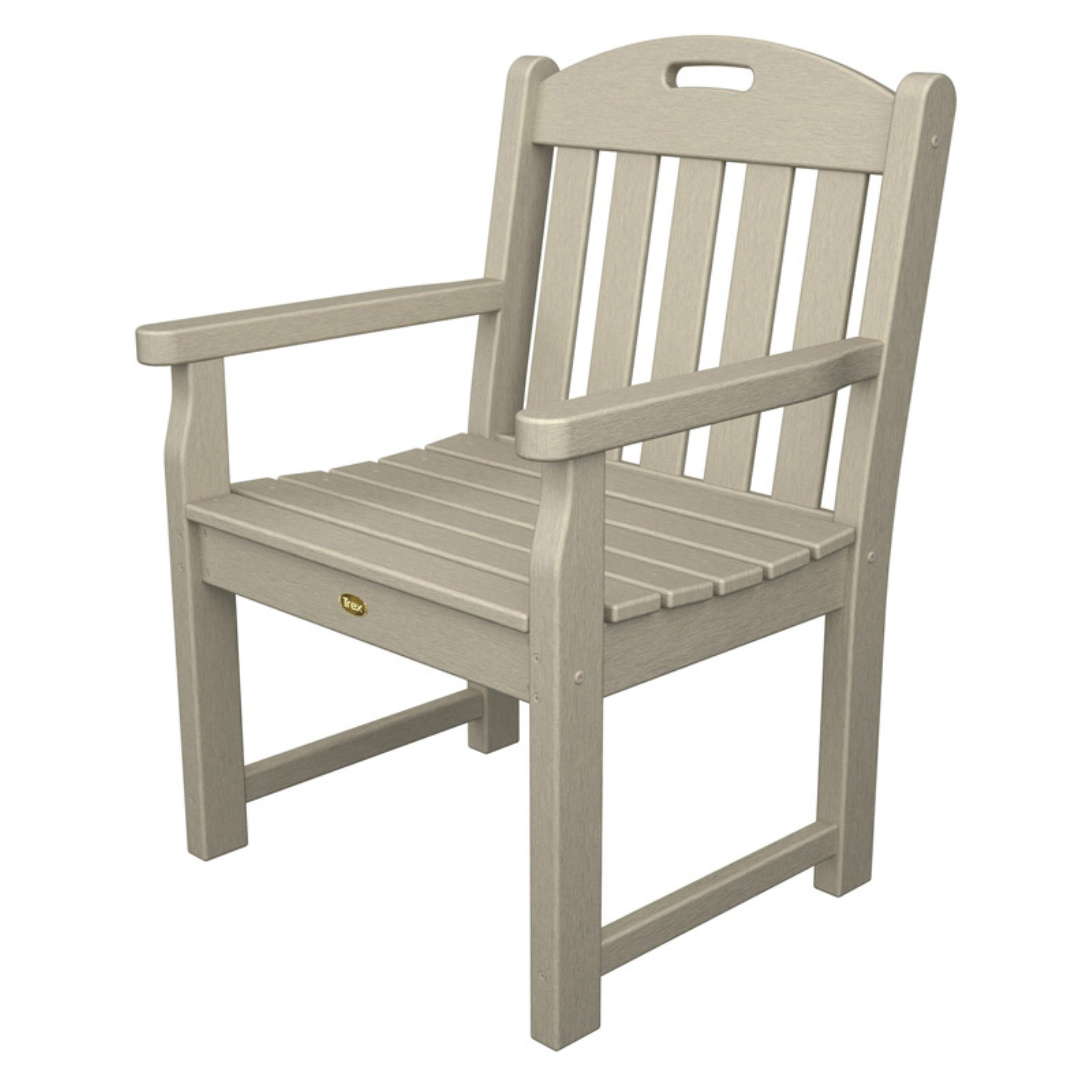 Trex Outdoor Furniture Recycled Plastic Yacht Club Garden Chair