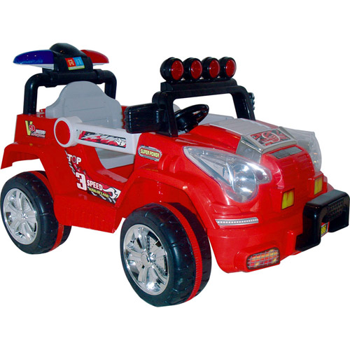 Rockin' Rollers Land King Battery-Operated Jeep Ride-On Vehicle