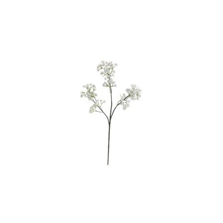 Club Pack of 24 Artificial White Baby's Breath Silk Flower Sprays 18""