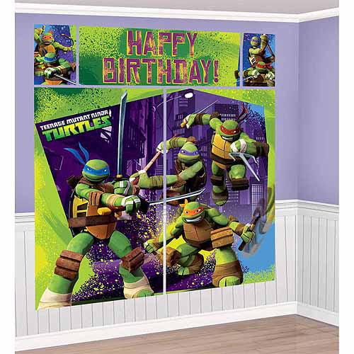 Teenage Mutant Ninja Turtle Scene Setter Kit