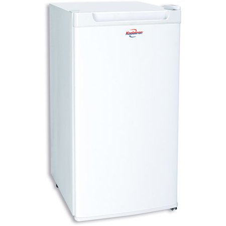 Koolatron 3.3 Cu Ft Single Door Compact Refrigerator BC88W, White