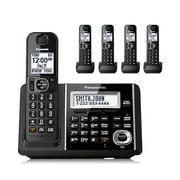 Panasonic Cordless Phone and Answering Machine with 5 Handsets